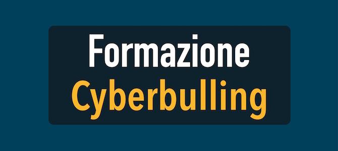 Formazione referenti CTS su bullismo e cyberbullismo