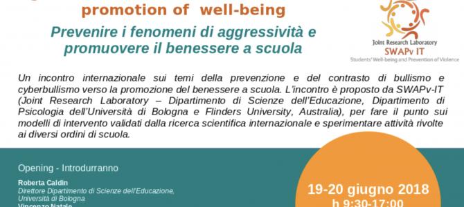 Prevenire i fenomeni di aggressività e promuovere il benessere a scuola